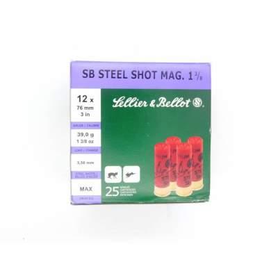 ΦΥΣΙΓΓΙΑ SELLIER BELLOT STEEL 39 MAGNUM C12