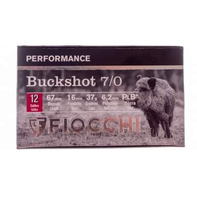 ΦΥΣΙΓΓΙΑ FIOCCHI BUCKSHOT 7/0 12/70 37gr