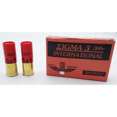 Sigma 3 Φυσίγγια International 6+1 Cal12